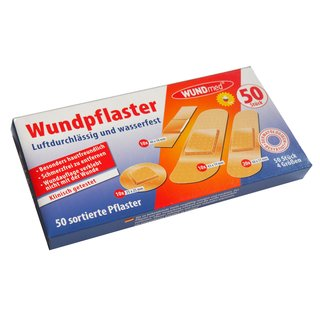 WUNDmed Wundpflaster Megabox