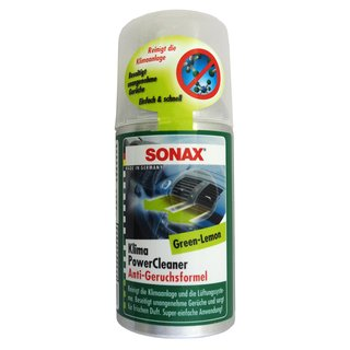 SONAX KlimaPowerCleaner Green-Lemmon 100ml