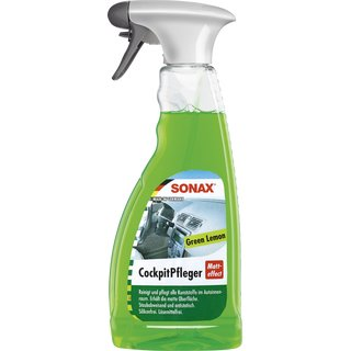 SONAX 500 ml CockpitPfleger Matteffect Green Lemon