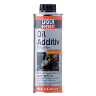 Original Liqui Moly 500ml Oil Additiv Öl-Additiv Additive Zusatz 1013