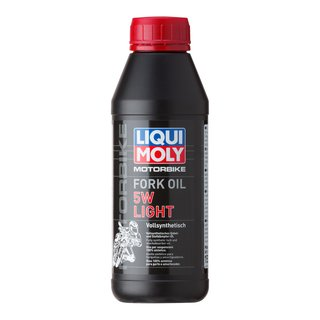 Original Liqui Moly 500ml Motorbike Fork Oil 5W light 1523