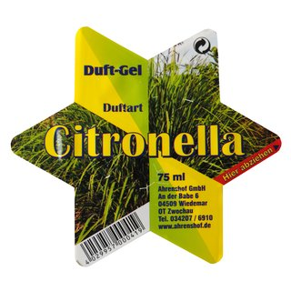Duft-Stern Citronella 75 ml